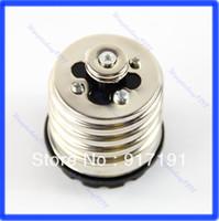 Electronic T5 Lamp Bases Free Shipping 3pcs lot E40 to E27 Base LED Halogen Light Lamp Bulbs Socket Adapter Converter
