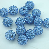 Wholesale 5 rows of factory direct diamond ball Shambhala beads mixed color beads trade jewelry accessories