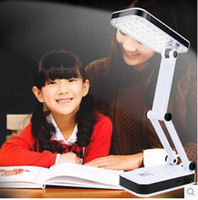 AC SMD 3528 Yes The collapsible folding rechargeable table lamp light reading 24 LED lights lamp portable solar energy lamp desk lamp