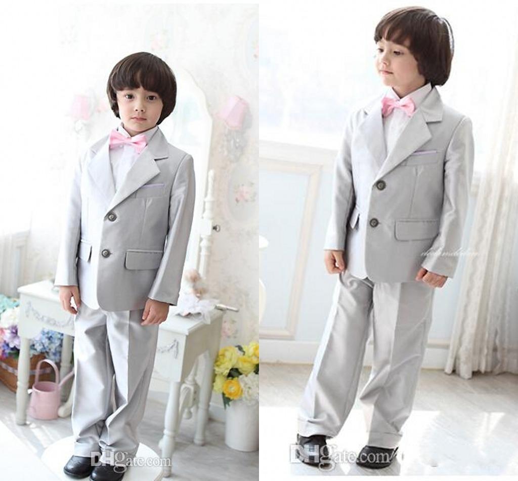 Boys White Dress Pants