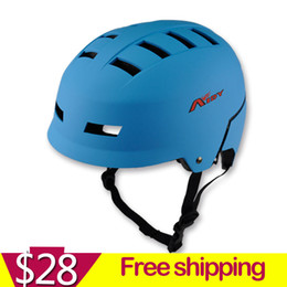 Wholesale adult skateboard helmet bmx mountain bike ride hip hop helmet size L