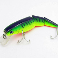 Wholesale Luminous Minnow Lures Sea Fly Fishing Baits Artificial Rapala wobblers Carp Bait Hard metal Lure jerkbait hooks