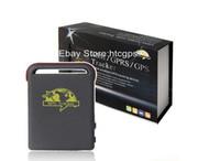 GPS Tracker oem 9cm*5.4cm*2.2cm Promotion----Free Shipping Factory Sale Stable COBAN GPS Tracker TK102B Vehicle   Car GPS tracker TK102 Quadbands Dropshipping