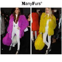 women s 16 coat with best reviews - ManyFurs-New 2014 Mongolian fur women coat women's casual jackets women winter dress 16 colors high quality free shipping