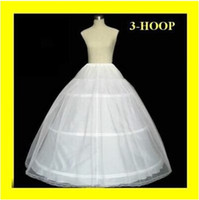 Wholesale Cheapest In Stock Ball Gown Bone Full Crinoline Bridal Hoop Petticoats For Wedding Dress Wedding Skirt Accessories Slip K6141