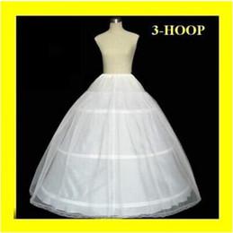 Wholesale Cheapest In Stock Ball Gown Bone Full Crinoline Bridal Hoop Petticoats For Wedding Dress Wedding Skirt Accessories Slip K6141