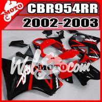 For Honda aftermarket honda fairings - Welmotocom Aftermarket Injection Mold Fairings For Honda CBR954RR CBR RR CBR RR Red Black H95W26 Free Gifts