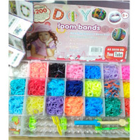 rainbow Loom Charm Bracelets Novelty family DIY rainbow Loom...