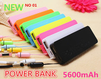 Wholesale thin Portable Perfume Power Bank mah External Backup Battery Charger Emergency Power Pack FREE DHL UPS