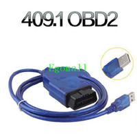 Car Diagnostic Cables and Connectors For Audi VAG 2014 Lower Price KKL USB OBD2 OBDII Auto Diagnostic Tools KKL 409.1 OBD2 USB Cable Car Diagnostic Cable
