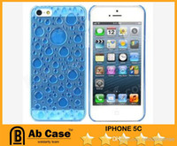 Wholesale Hot D Water Drop Style Protective Plastic Back Cell Phone Cases For Iphone S Iphone SCandy Colors Cheap Post