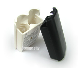Wholesale Battery Pack Cover Shell Case battery cover Kit for Xbox360 Wireless Controller