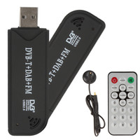 Wholesale RTL SDR FM DAB DVB T USB Stick Set with RTL2832U R820T Tuner Receiver Remote Control EGS_034