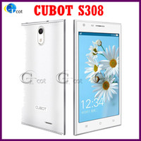 Wholesale CUBOT S308 android cell phones MTK6582 Quad Core Phone GHz CPU GB RAM GB inch HD OGS Screen MP Android G GPS cellphones