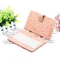 Ship from USA! Lovely 7 inch Cute Cartoon Leather Keyboard C...
