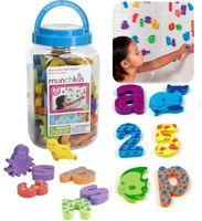 Munchkin brand new children bath toys eva foam 26 letter dig...