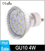 Wholesale GU10 W x2835SMD LM K Warm White Light LED Spot Bulbs V