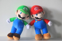 Wholesale Super Mario Bros Stand MARIO amp LUIGI Plush Doll Stuffed Toy quot And Retail