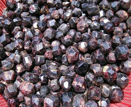 100lot Natural Crystal Red Garnet ore energy rough Chakra Energy Stone Fengshui Products wholesale