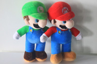 "NEW SUPER MARIO BROTHERS 10inches 25cm PLUSH "" MARIO AND..."