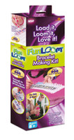 Unisex 12-14 Years Multicolor Fun Loom Kit Bracelet Making Kit Includes 600 Quanlity Silicone Bands For Grls And Boys
