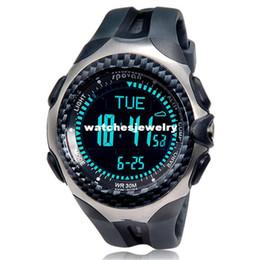Wholesale Top Sports Spovan MINGO functional Outdoor Digital Compass barometer pedometer temperature height weather forecast men Watch