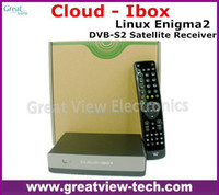 DLP Yes Digital 5PCS Lot Free DHL Cloud ibox Full HD DVB-S2 Satellite Receiver Enigma 2 CLOUD-IBOX Mini VU+ Solo Support Youtube IPTV channels