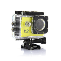 Wholesale Free DHL SJ4000 Sport Action Camera Full HD car DVR DV Min M Waterproof extreme Sport Helmet Camera P G Senor Motor gop