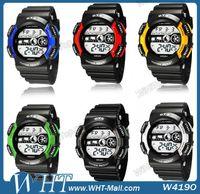 Sport Unisex Round Wholesale-AUDI submersible Table Waterproof Luminous Watch Multifunctional Sports Watch.