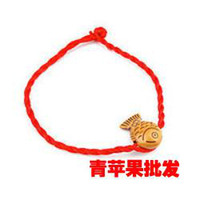 Barrettes & Clips OPP bag single bell imitation jade amule Other Yiwu Small Commodity Wholesale red string bracelet wholesale mobile phone pendant Taobao small gifts cheap gifts