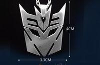 autobot symbol - Transformers Autobot Necklace Geometric symbols Titanium Steel B20