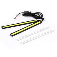 Code Reader For BMW Autel 1pair 2pcs 12V LED COB Car Auto DRL Driving Daytime Running Lamp Fog Light Free Shipping