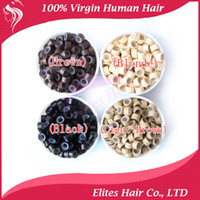 Wholesale 2000pcs SILICON MICRO LINK BEADS for feather or hair extension kit FET801