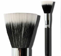 Wood best fiber powder - 2015 Makeup Brushes New cheapest best price Black single Makeup Cosmetic Fiber Foundation Stipple Powder Brushes