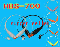 Wireless Cell Phones 3.5mm 8 Color For Choose HBS 700 Bluetooth Stereo Headset Wireless Earphone Sport Headphone For LG iPhone Samsung High Quality DHL FREE