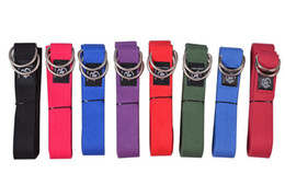 Wholesale SHOCK ATHLETIC YOGA STRAP COTTON Resistance Exercise Fitness Band