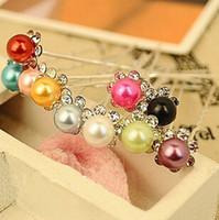 Wholesale 20 Wedding Bridal Pearl Hair Pins Flower Crystal Hair Clips Bridesmaid Hair Accessories