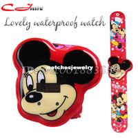 Sport best electronic gifts - Best selling high quality Waterproof electronic watches Mickey Mouse swimming casual sport watch children gifts
