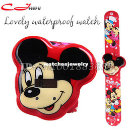 Wholesale Best selling high quality Waterproof electronic watches Mickey Mouse swimming casual sport watch children gifts