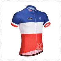 Wholesale fdj new team cycling jersey short sleeved version of the professional cycling jacket