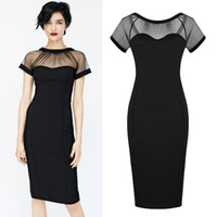 Wholesale Plus Sizes New Sexy Ladies Celebrity Style Women Party Evening Slim Midi Dress Clubwear Bodycon Dress G0502