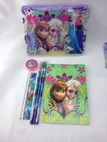 office stationery set - New listing Snow princess stationery set for Students Office School Supplies Snow princess Pencil Cases Bags Ruler Pencils