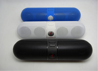 10pcs Wireless Bluetooth speaker Active Pill with FM Radio T...