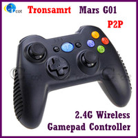 Wholesale Wireless Gamepad Controller Tronsmart Mars G01 Ghz For Android TV BOX MINI PC WINDOWS PC PS3 KINDLE FIRE