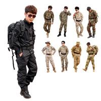 Full army bdu - CS Paintball suit Combat BDU Uniform Military Uniform bdu Hunting Suit Wargame COAT PANTS Set Tactical Jacket