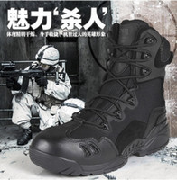 Cheap Ankle Boots Tactical Military Shoes Best boots Men Breathable Boots