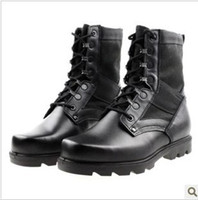 Cheap Ankle Boots Tactical Military Shoes Best Army boots PU Boots
