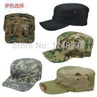 military hats - Hunting Tactical Military Patrol Cap Equipped The Army Hat Camouflage Caps Flat Hat for Men and Women Outdoor