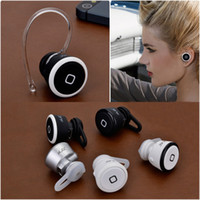 For Apple iPhone Bluetooth Headset  YS-106S Mini Wireless Earphone Bluetooth V3.0 Stereo Music Handsfree Headphone for Cellphone Tablet iPhone iPad Headset DHL 200pcs