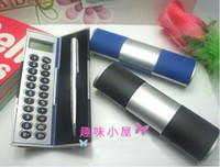 Wholesale Magic calculator gift calculator with METAL BALL PEN SET EXTRA